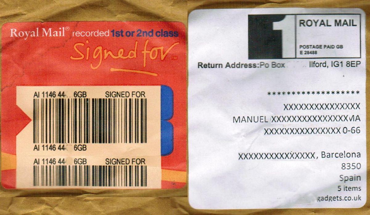 Escrito autorizacion recogida correos