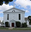Siloam United Methodist Church in Bethel Township, Delaware County, Pennsylvania.jpg