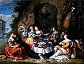 Simon de Vos - The prodigal son squandering his inheritance.jpg