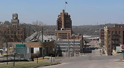 Skyline of Sioux City