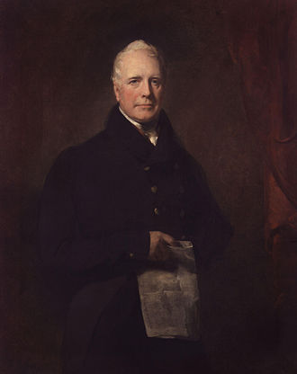 Sir David Baird, 1st Baronet - Portrait by John Watson Gordon, c. 1825