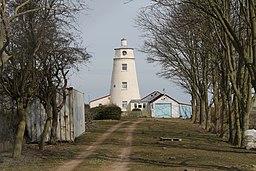 Sir Peter Scott Lighthouse (East lighthouse) (geograph 3408244)