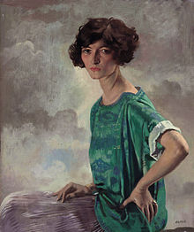 Sir William Orpen (1878-1931) - Portrait of Gertrude Sanford.jpg
