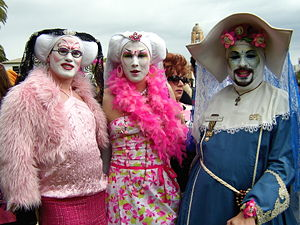 Sisters of Perpetual Indulgence - Image: Sisters Risque Viva L Amour Rhoda Kill
