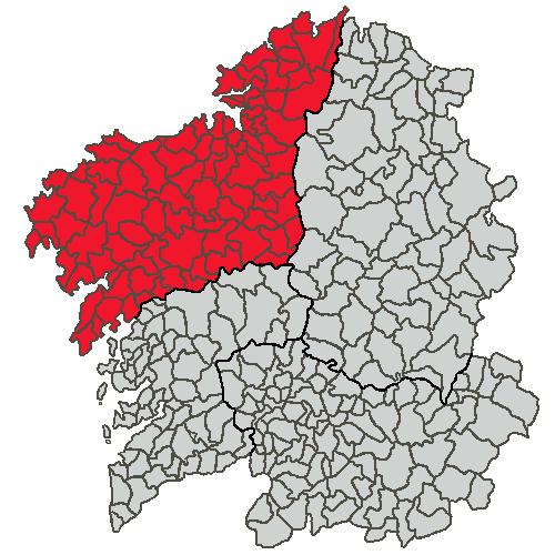Situacion Provincia da Coruña