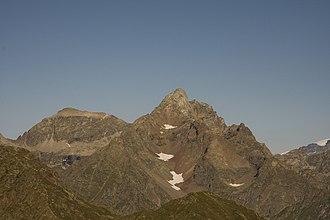 Corno Bianco - The summit seen from Punta Sivella