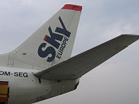 Sky europe vleugel.JPG