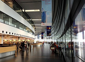 Vienna International Airport - Interior of Terminal 3
