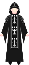 Slavic Orthodox Schemamonk - vestments.svg