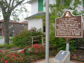 The city of Slidell celebrated its centennial in 1988