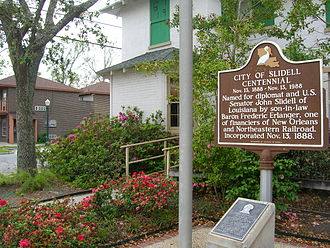 New Orleans metropolitan area - The city of Slidell celebrated its centennial in 1988