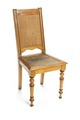 Sliten stol med sits och rygg i rotting - Hallwylska museet - 108507.tif