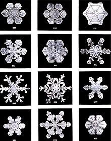 Resultado de imagen de Estructura del agua hecha hielo