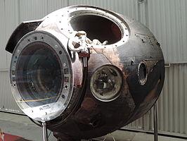 De zwartgeblakerde capsule van Sojoez 28