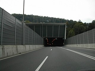 Swiss tunnel and fallout shelter