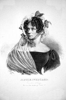 Sophie Schröder, 1828 (Source: Wikimedia)