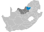 South Africa Districts showing Bojanala Platinum.png