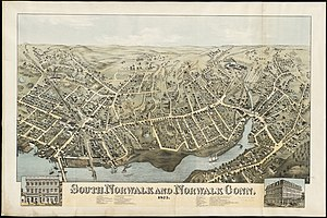 South Norwalk - Map of South Norwalk and Norwalk, CT