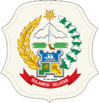 Coat of Arms of Indonesian province of South Sulawesi.