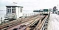 Southend Pier Tramway in 1972.jpg