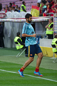 Spain - Chile - 10-09-2013 - Geneva - Raul Albiol.jpg