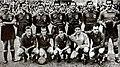 Spanish national football team before the match against Ireland in Dublin, 27.03.1949.jpg