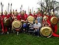 Spartanie dzieciom i Robert Korzeniowski (8741020531).jpg