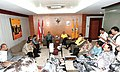 Speakers and Deputy Speaker of People's Consultative Assembly met Aburizal Bakrie.jpg