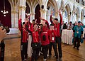 Special Olympics World Winter Games 2017 reception Vienna - Mongolia 02.jpg