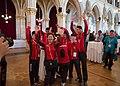 Special Olympics World Winter Games 2017 reception Vienna - Mongolia 02.jpg