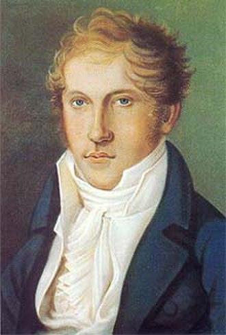 Louis Spohr - Spohr self-portrait