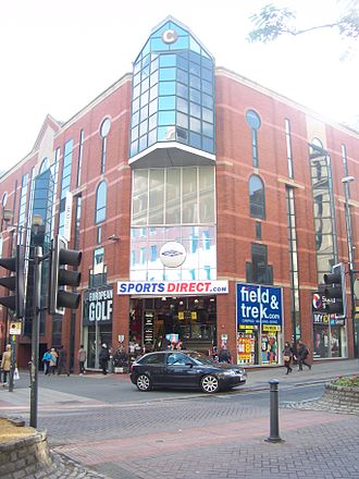 Sports Direct - Sports Direct shop in 2011, at the former Lillywhite's site on the Headrow in Leeds