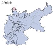 Sprachen deutsches reich 1900 dänisch