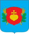 Coat of arms of Sribnes rajons