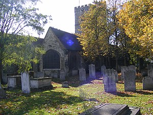 Stephen Port - The graveyard of St Margaret's Church, Barking: The bodies of three of the four murder victims were found here.
