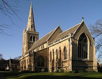 Henry Isaac Stevens - Image: St. John's Church, Mansfield geograph.org.uk 11098