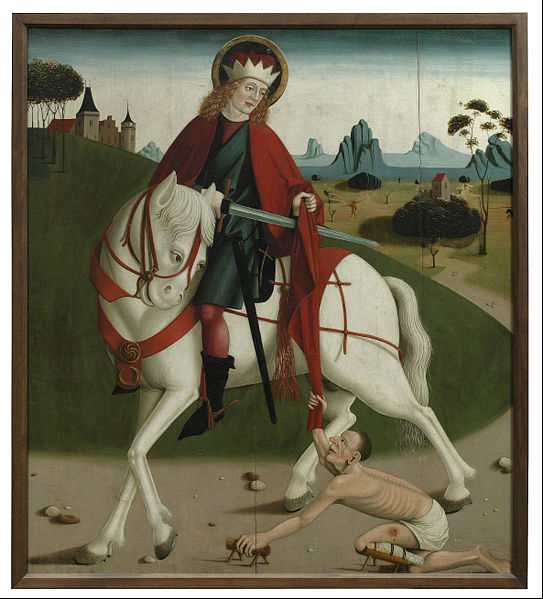 File:St. Martin and the Beggar - Google Art Project.jpg