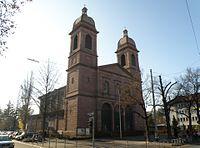 St. Peter und Paul Kirche, Mühlburg, Karlsruhe (2011).jpg