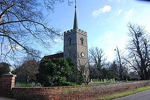Hunsdon - St Dunstan Church, Hunsdon