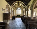 St Ildierna's Church, Lansallos Interior.jpg