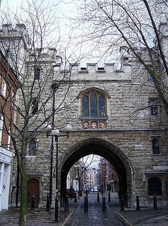 St John's Gate, Clerkenwell - Image: St John's Gate 2004 3