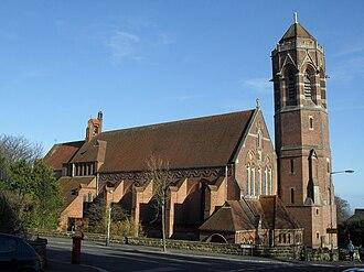 Harry Stuart Goodhart-Rendel - St John the Evangelist's Church, St Leonards-on-Sea, Hastings (1881; rebuilt in 1951 by H. S. Goodhart-Rendel)