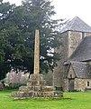 St Lawrences Church North Hinksey broken cross.jpg