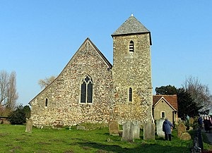 Lower Halstow - Image: St Margaret, Lower Halstow, Kent geograph.org.uk 326761