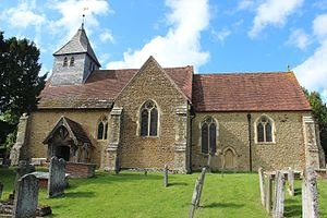 Dunsfold - Image: St Mary and All Saints, Dunsfold