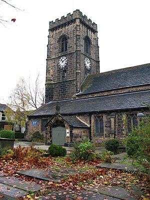 Elland - The church of St Mary the Virgin