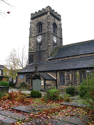 Elland - The church of St Mary the Virgin
