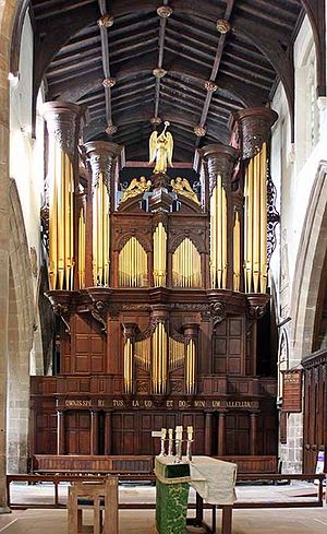 Newcastle Cathedral - The T C Lewis – Harrison – Nicholson organ at Newcastle Cathedral.