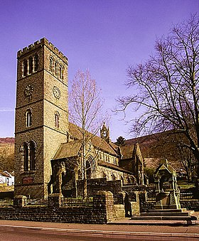 St Peters Church, Pentre, Rhondda Fawr Valley, South Wales - geograph.org.uk - 1248615.jpg