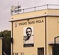 Stadio Piola (Vercelli), poster di Silvio Piola.jpg